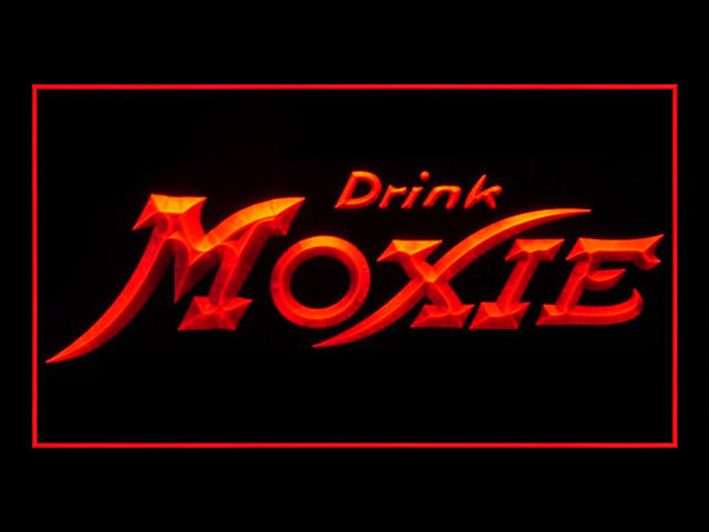 Drink Moxie Soft Drink Pub Neon Sign
